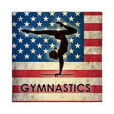 Grunge USA Gymnastics Queen Duvet