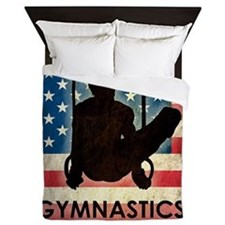 Grunge USA Gymnastics Queen Duvet
