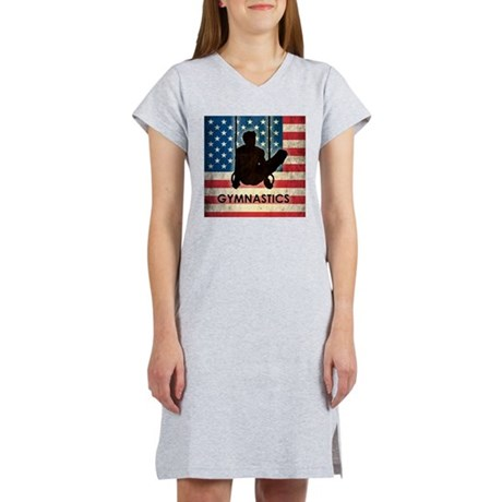 Grunge USA Gymnastics Women's Nightshirt