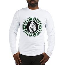 Mt Rainier Green Circle Long Sleeve T-Shirt