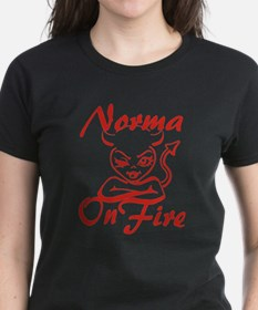 Norma On Fire Tee