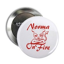 "Norma On Fire 2.25"" Button"