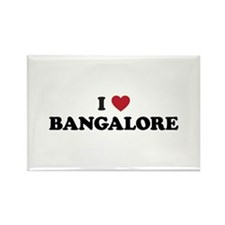 I Love Bangalore Rectangle Magnet