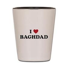 I Love Baghdad Shot Glass