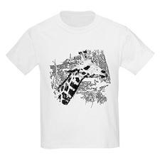 Giraffe Art T-Shirt