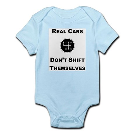 Real Cars Shift Themselves Infant Bodysuit