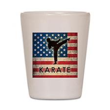 Grunge USA Karate Shot Glass