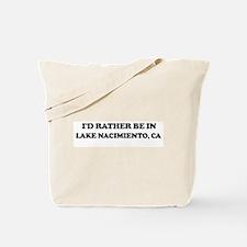 Rather: LAKE NACIMIENTO Tote Bag