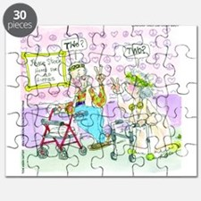 Where Have All The Woodstock Hippies Gone? Puzzle