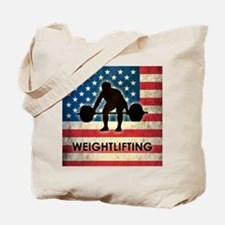 Grunge USA Weightlifting Tote Bag