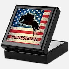 Grunge USA Equestrian Keepsake Box