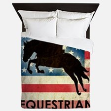 Grunge USA Equestrian Queen Duvet