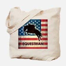 Grunge USA Equestrian Tote Bag