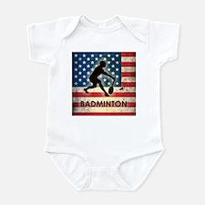 Grunge USA Badminton Infant Bodysuit