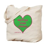 RECYCLE YOUR ORGANS Tote Bag (2 sided logo)