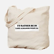 Rather: LAKE ALMANOR WEST Tote Bag