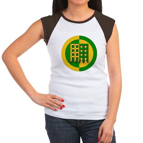 Unser Hafen Populace Women's Cap Sleeve T-Shirt