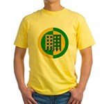 Unser Hafen Populace Yellow T-Shirt