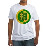 Unser Hafen Populace Fitted T-Shirt