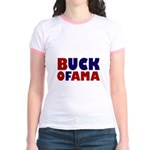 Buck Ofama Jr. Ringer T-Shirt