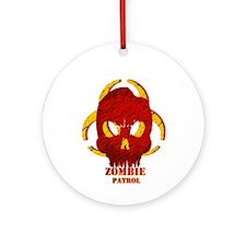 Zombie Patrol Ornament (Round)