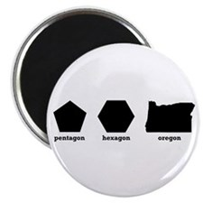 Polygon Oregon Magnet