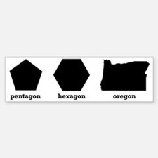Polygon Oregon Sticker (Bumper)