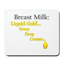 Liquid Gold Mousepad