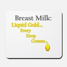 Liquid Gold Mousepad