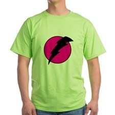 Flash Bolt Pink Lightning T-Shirt