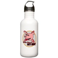 Make Bacon not War! Water Bottle