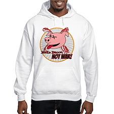 Make Bacon not War! Hoodie