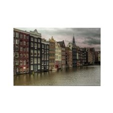 Waterfront Propery Rectangle Magnet