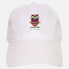 Customizable Whimsical Owl Cap