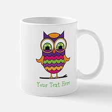 Customizable Whimsical Owl Mug