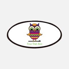 Customizable Whimsical Owl Patches