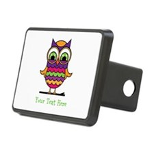 Customizable Whimsical Owl Hitch Cover
