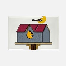 Home Tweet Home Rectangle Magnet