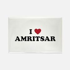 I Love Amritsar Rectangle Magnet