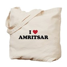 I Love Amritsar Tote Bag