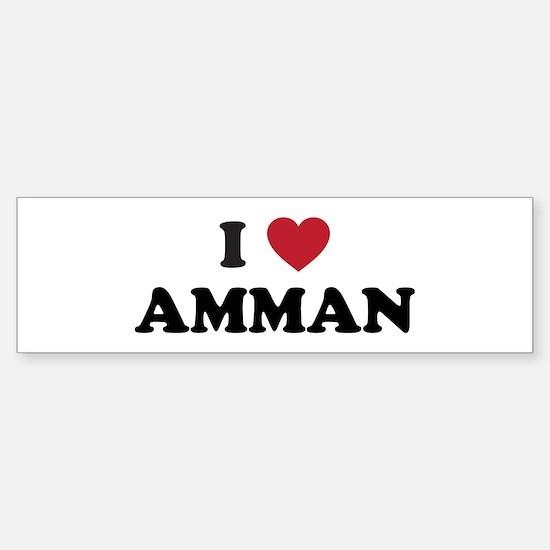 I Love Amman Sticker (Bumper)
