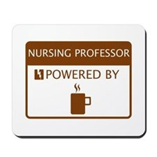 Nursing Professor Powered by Coffee Mousepad