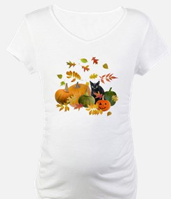 Black Cat Pumpkins Shirt