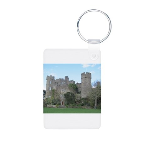 Malahide Castle Aluminum Photo Keychain