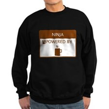 Ninja Powered by Coffee Jumper Sweater