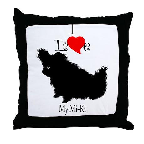 Mi-Ki Throw Pillow