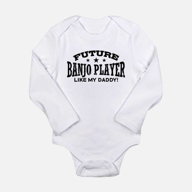 Future Banjo Player Li Long Sleeve Infant Bodysuit
