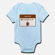 Mayor Powered by Coffee Infant Bodysuit