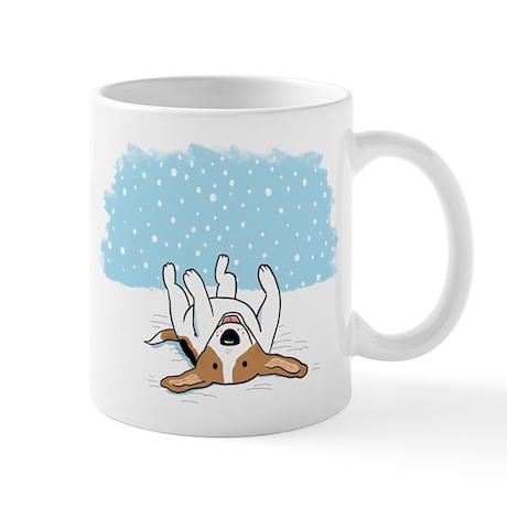 Happy Snow Beagle Mug