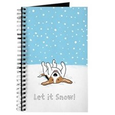 Happy Snow Beagle Journal